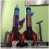 Peluncur Roket Air Tabletop Tie